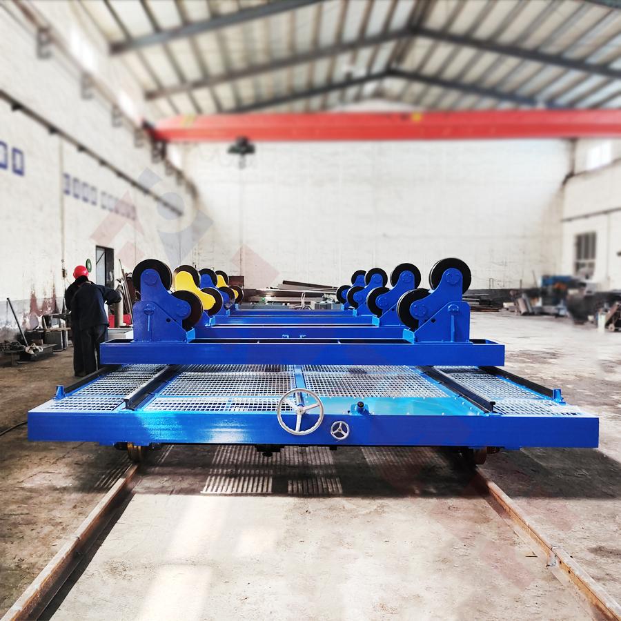 噴涂爐支架搬運車-高溫防爆軌道轉運車