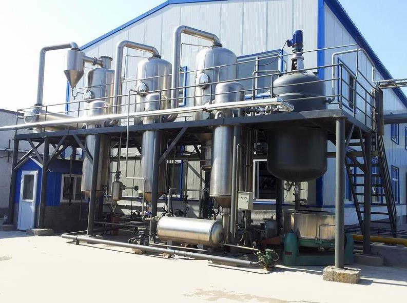 绿禾盛分享一则关于三效蒸发器脱盐法