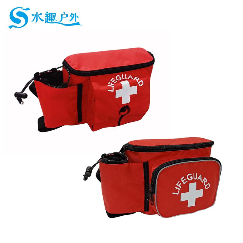 水趣啟用救生員腰包 為泳池救生員減輕負擔
