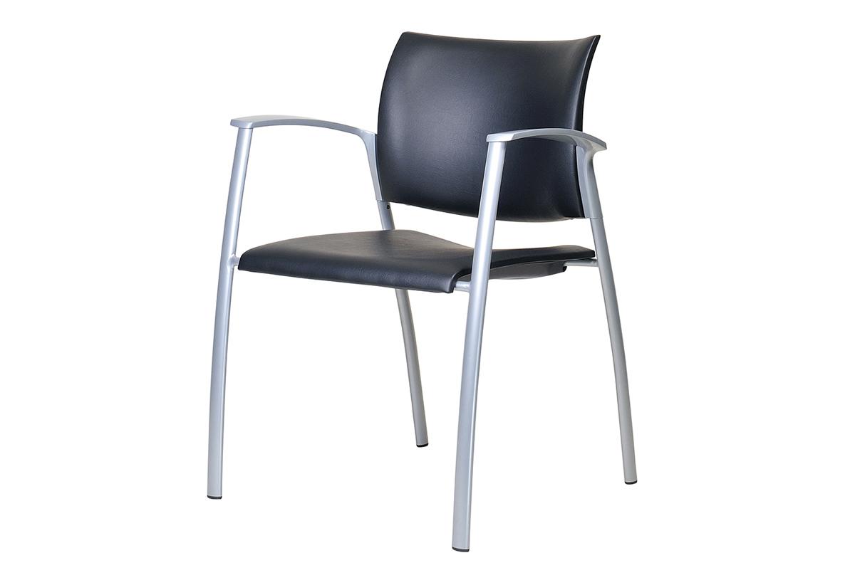 Libra固定四脚椅