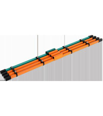 DHH单极组合式行车滑触线