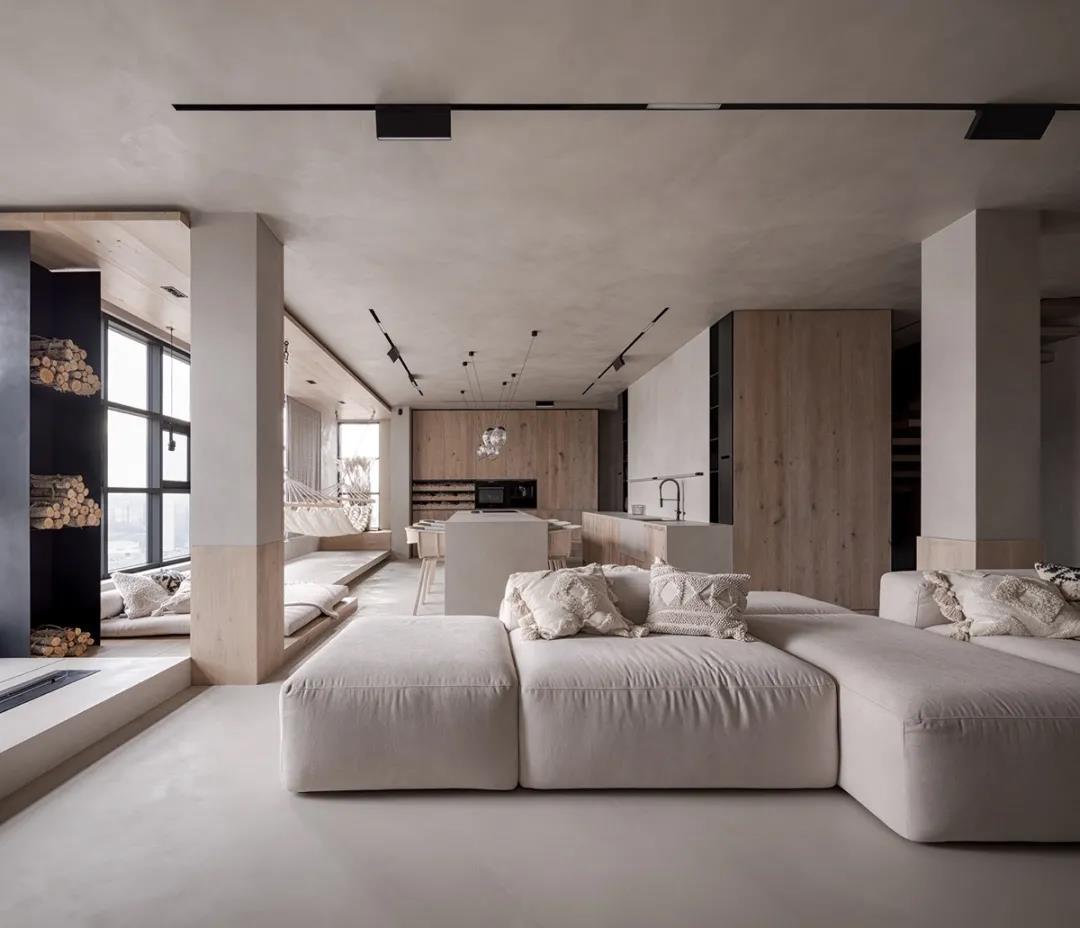 混凝土空間不清冷,這個屋頂上的家滿足你的一切想象!