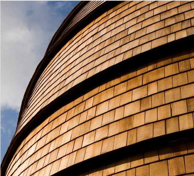 红雪松木瓦-更稳定的木屋材料