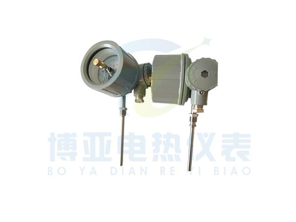 WSSX-411B防爆電接點雙金屬溫度計