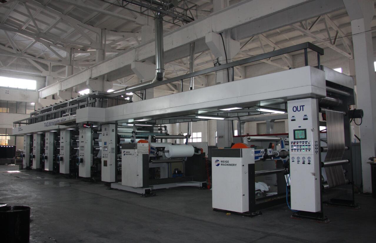 PVC凹版印刷機江蘇部分客戶實地拍攝案例
