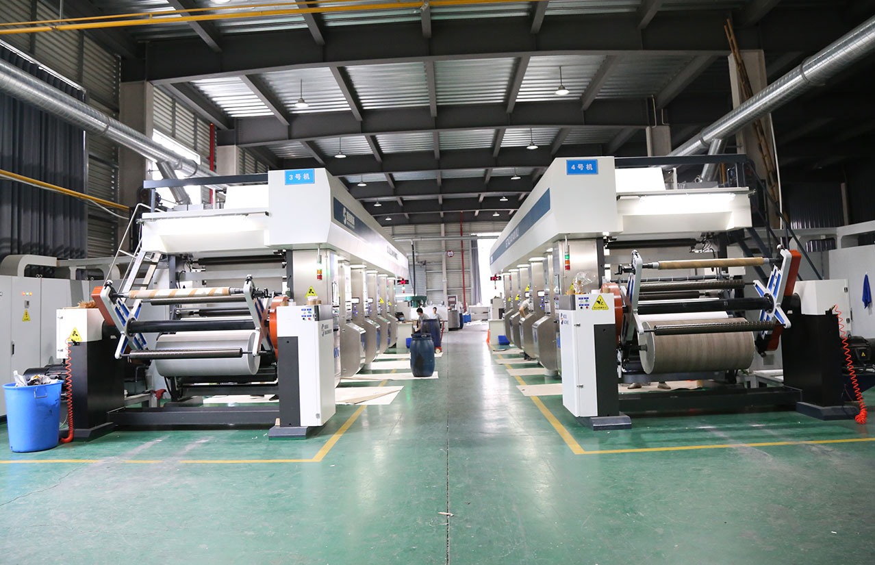 高速電子軸裝飾紙自動凹版印刷機-杭州尼歐裝飾新材料
