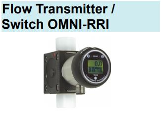 Honsberg-OMNI-RRI系列 流量变送器