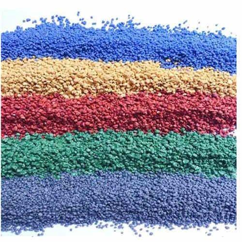 美地宝陶瓷颗粒-彩色路面