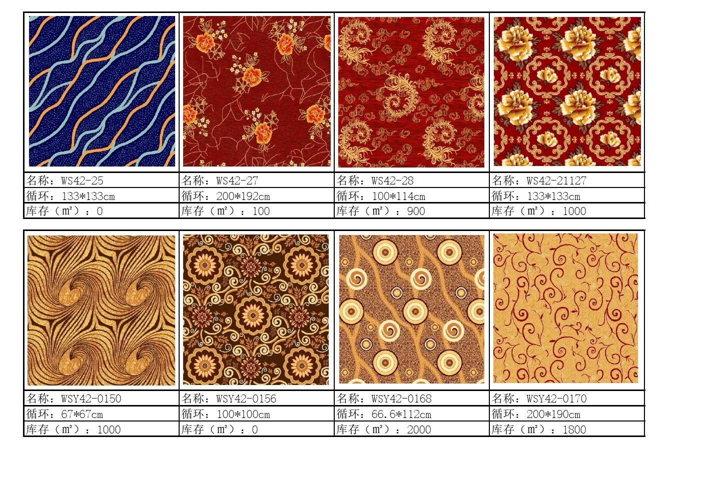 威爾頓地毯