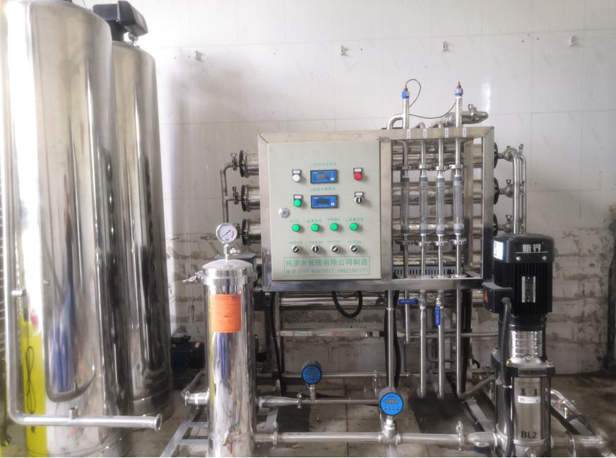 绿禾盛分享:纯水设备反渗透系统设备配置说明