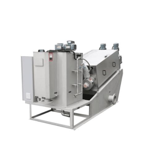Screw-Sludge-Dewatering-Machine