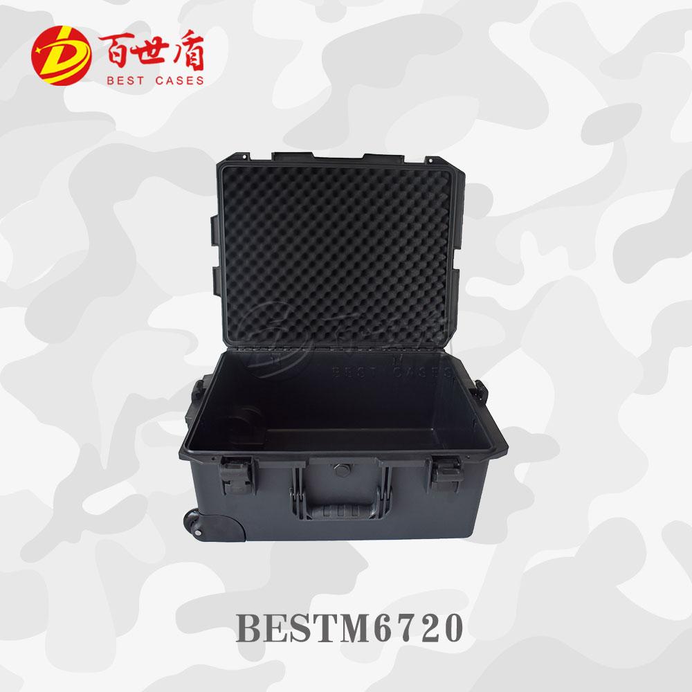 百世盾M6720 安全保护箱 拉杆箱 仪器保护箱 防水防摔 IP67