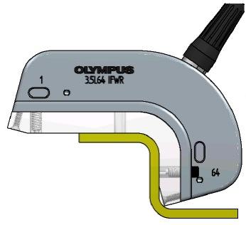 带圆弧R角(IFWR)的相控阵探头