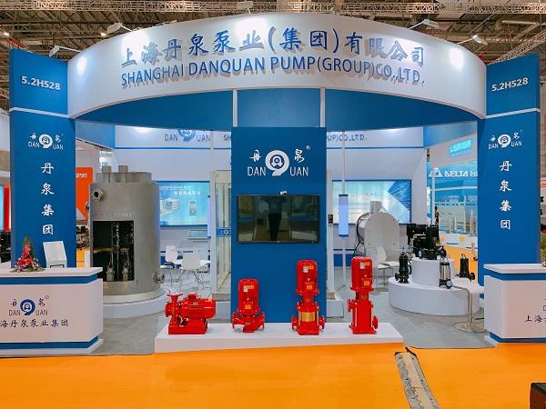 丹泉集團閃亮登場2019上海國際泵管閥展