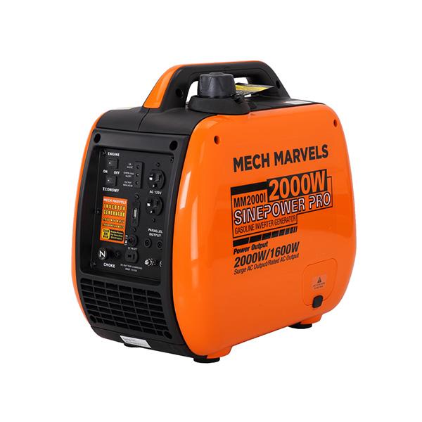 MM2000I 2000W Quiet Gasoline Portable Inverter Generator