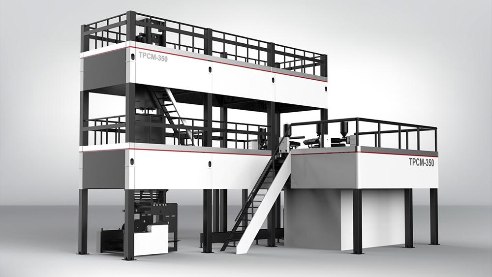 吹膜机工业设计