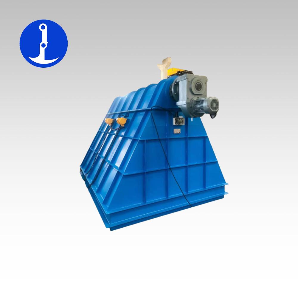 儲泥斗螺旋輸送一體設備