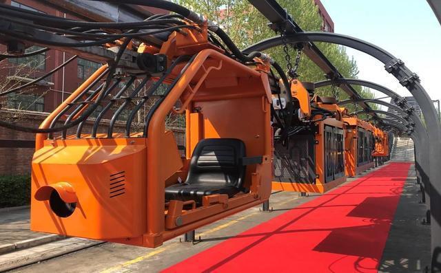 柴油机单轨吊机车的组成及特点