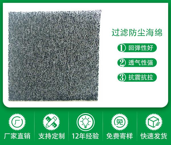 除塵防塵粗效過濾海綿