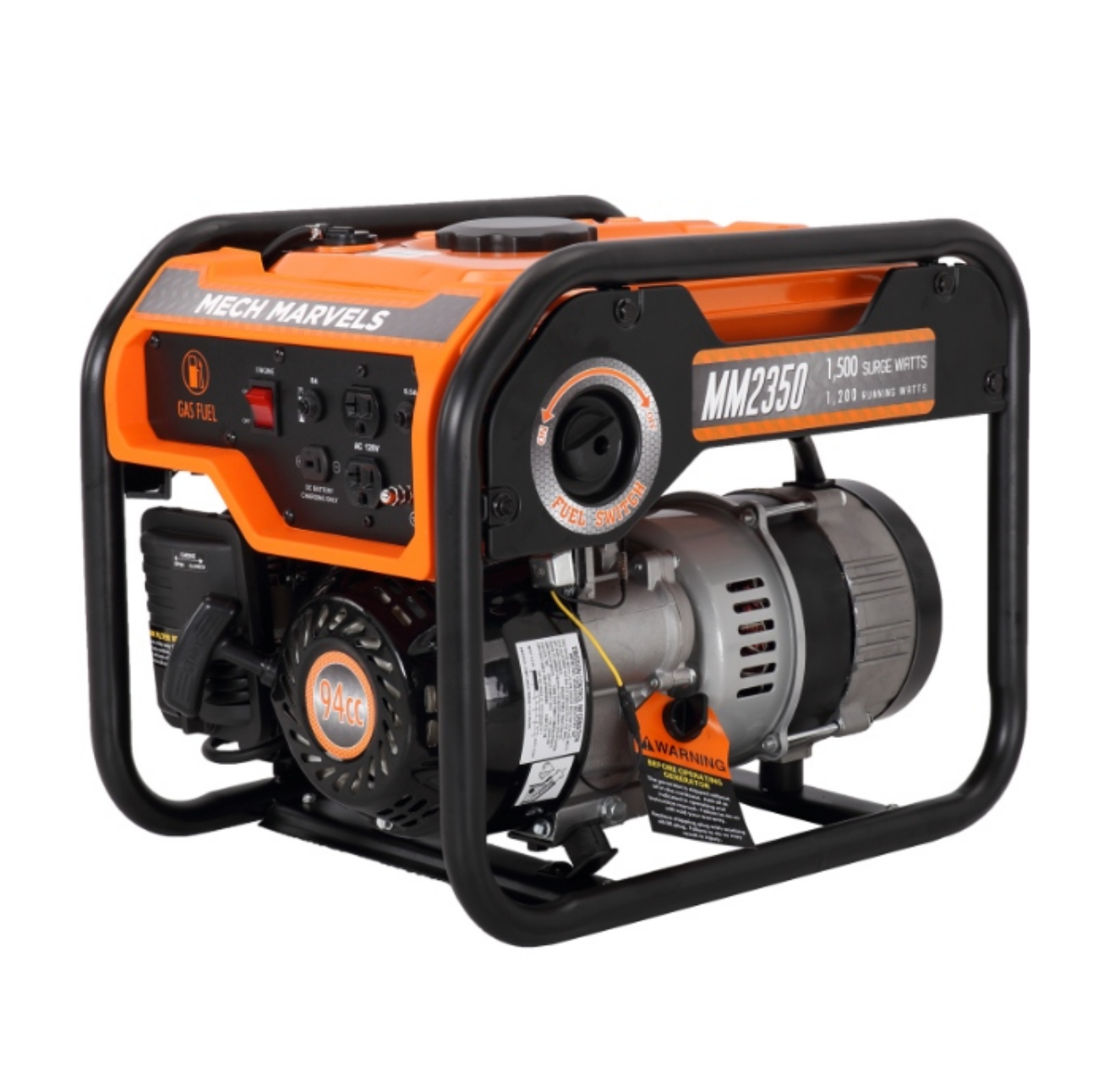 MM2350 1500W Gasoline Portable Generator