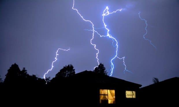 lightning protection metal rod