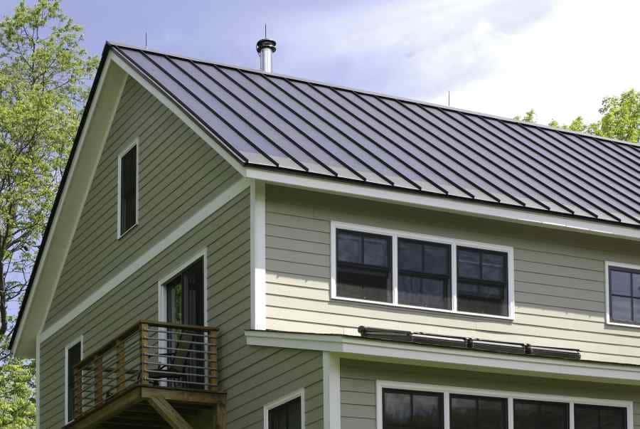 Blitzschutz für Gebäude mit Metalldächern