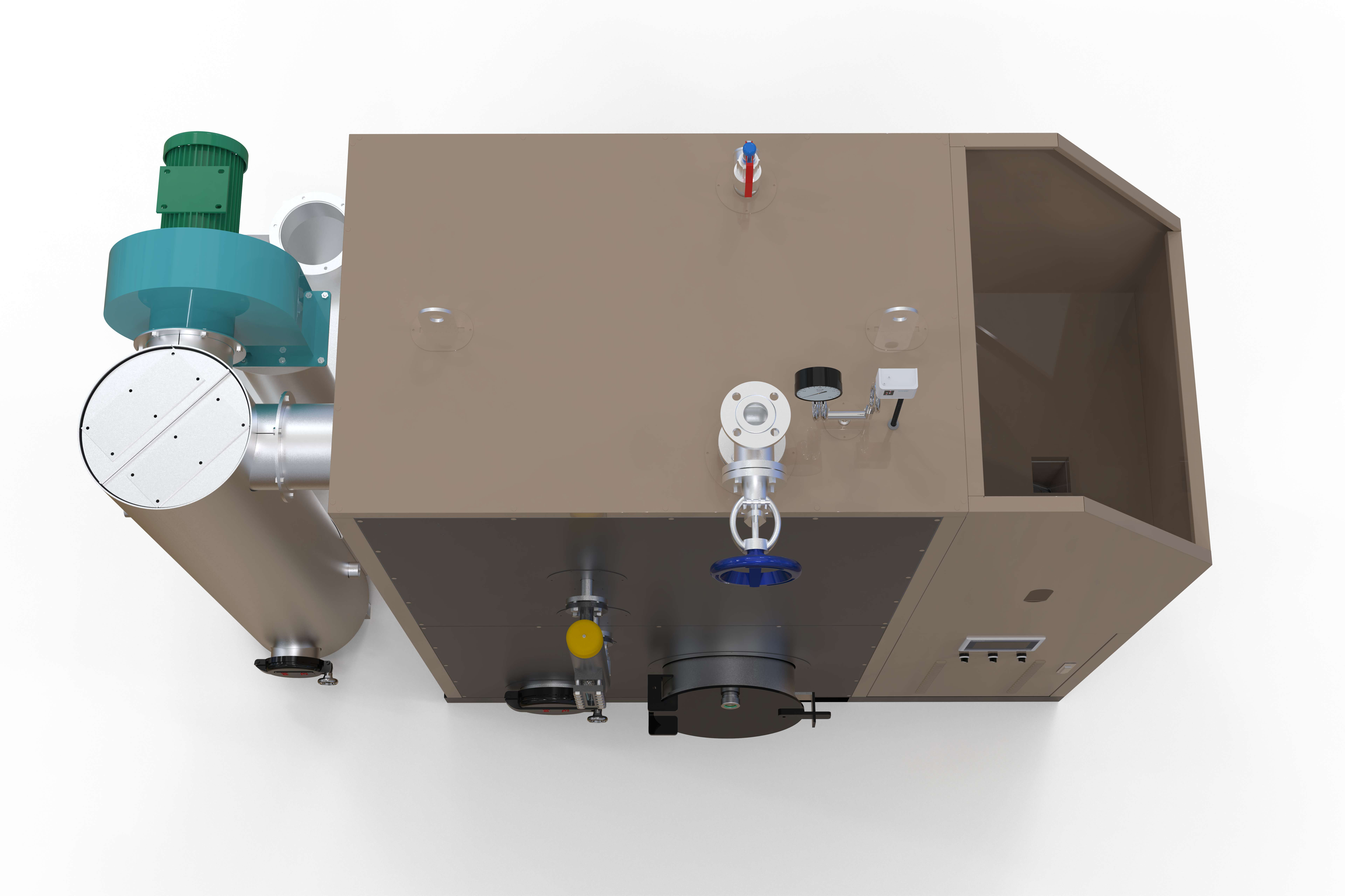 LSG0.50-0.7-S(B款)生物质蒸汽发生器