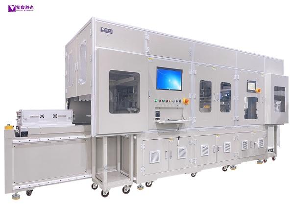 特种电容自动激光焊接设备