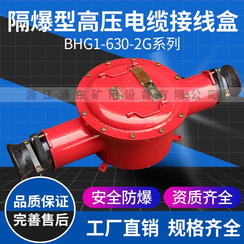 隔爆型高压电缆接线盒-BHG1-630-2G系列