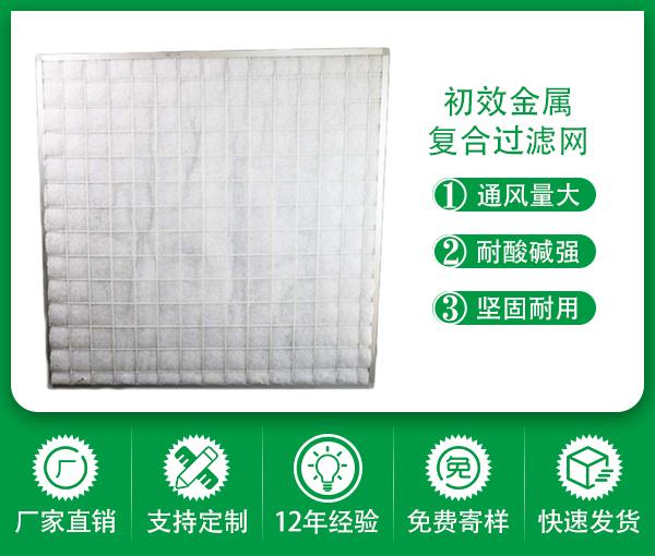 深圳綠創初效金屬框防塵除塵空氣過濾網