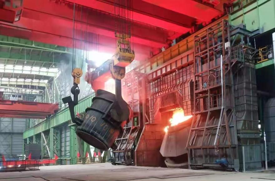 祝贺盖鼎承担工业空调EPC项目-普阳钢铁 新建三炼钢和三期中板成功试运行