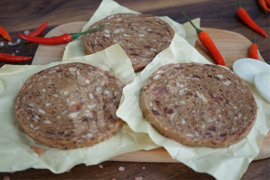黑椒牛肉餅