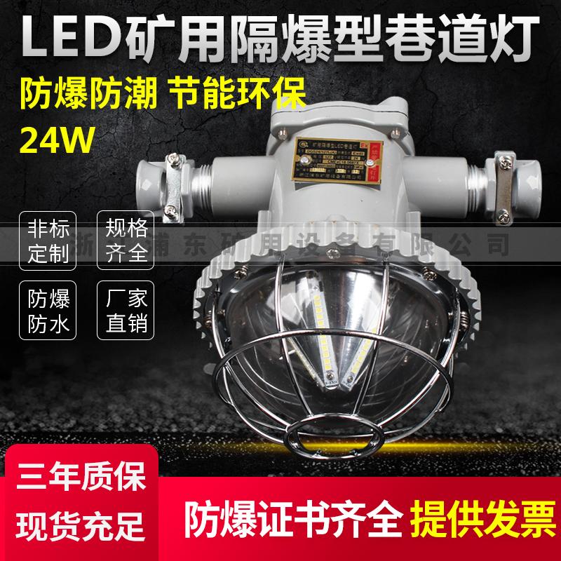 LED矿用隔爆型巷道灯-防爆防潮,节能环保-24W