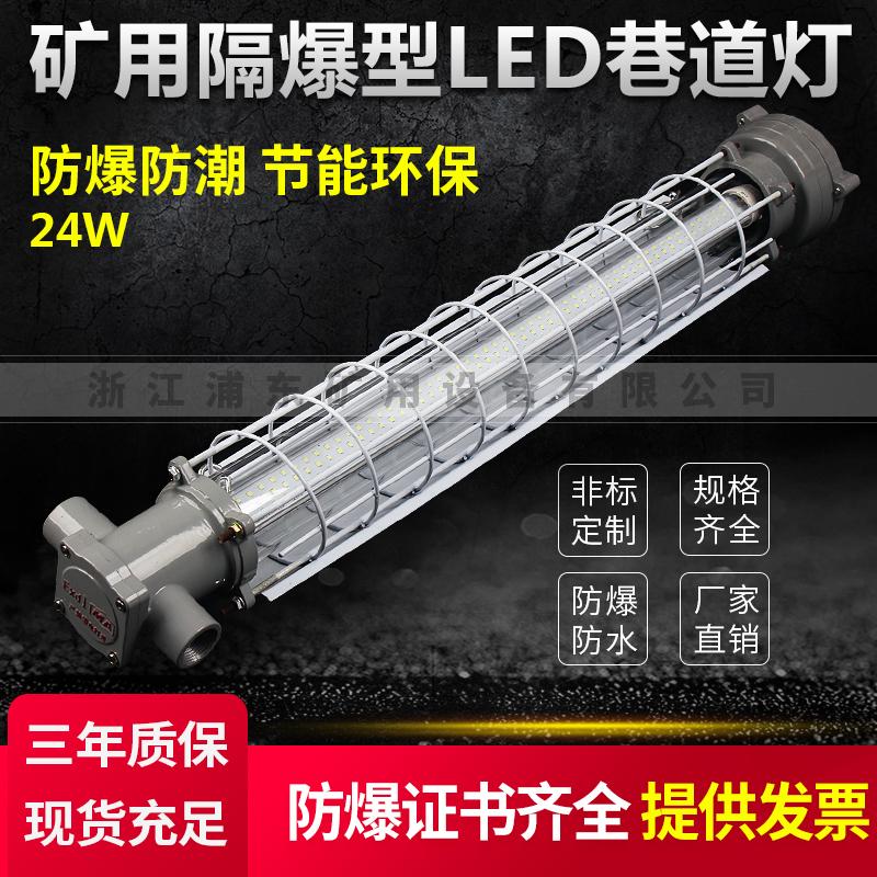 矿用隔爆型LED巷道灯-防爆防潮,节能环保-24W