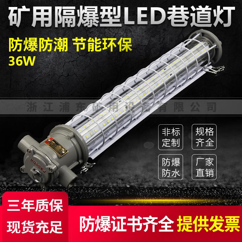 矿用隔爆型LED巷道灯-防爆防潮,节能环保-36W