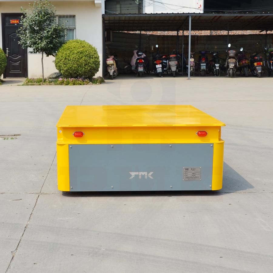 工業生產材料運送設備無軌搬運車(出口意大利10噸蓄電池無軌轉運車)