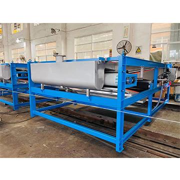 新環配套板框壓濾機的污泥濃縮預脫水機