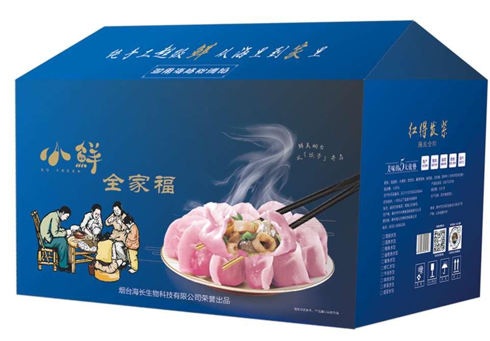 全家福海肠水饺(只支持烟台当地自取)