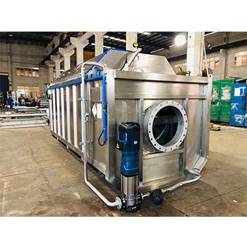新环第三代污水提标直联式精密过滤机