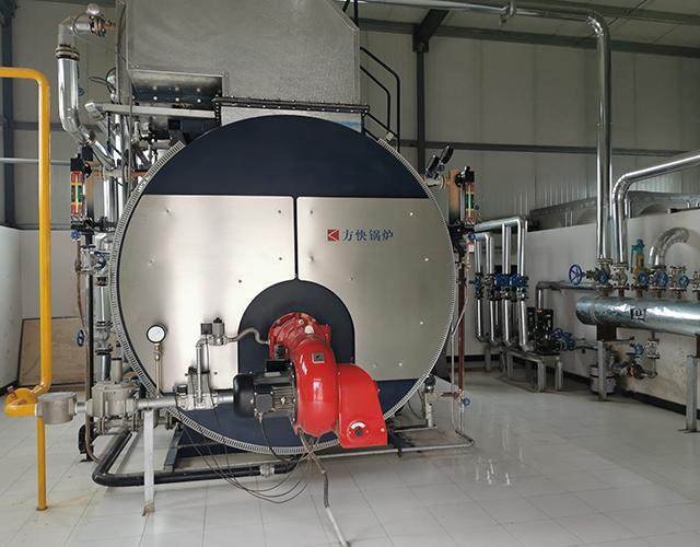 超威电源集团一体冷凝燃油气蒸汽锅炉项目