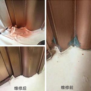 仿銅門修復案例