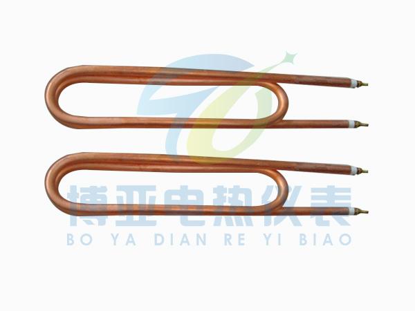 雙U形銅電熱管