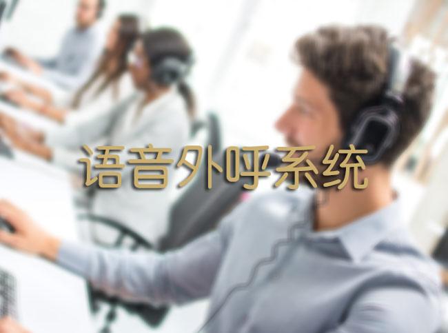 语音外呼系统