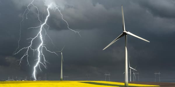 large-scale wind turbines