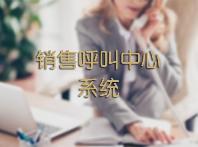 销售呼叫中心系统