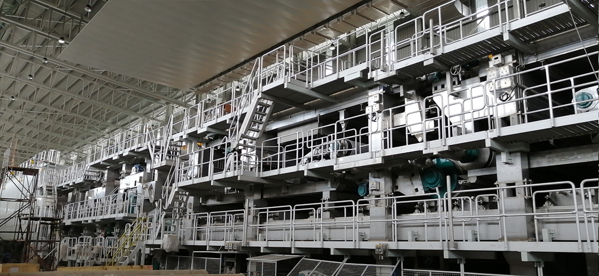 长网多缸瓦楞纸机