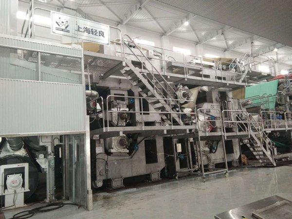 淋膜原纸纸机