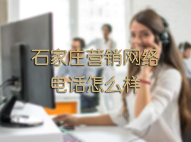 石家庄营销网络电话怎么样