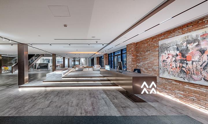 历史与现代 励致洋行Logic上海家具展厅设计欣赏