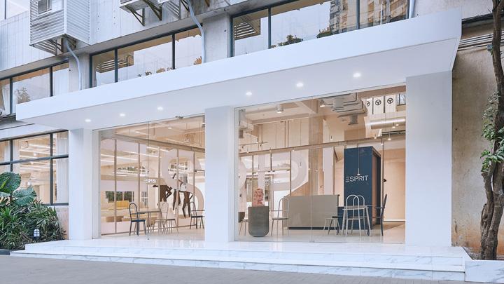轻柔明亮 时尚生活品牌Esprit亚洲总部(上海)设计欣赏